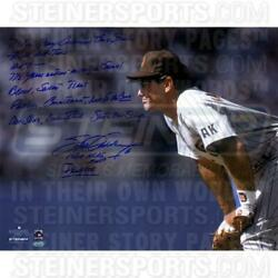 Steve Garvey San Diego Padres Stands Ready 16 X 20 Story Photo And Inscs