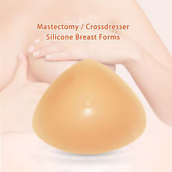 Silicone Breast Form Mastectomy Prosthesis Bra Enhancer Pad Post Surgery 1 Piece