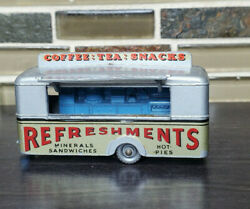 Vintage Matchbox Lesney 74 Mobile Canteen Refreshments Toy Food Truck