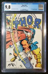Thor 337 Cgc 9.8 1st Appearance Of Beta Ray Bill White Pages