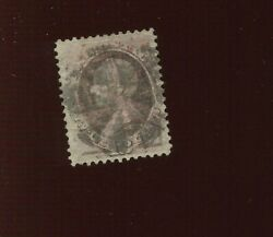 140 Clay H-grill Used Stamp With Weiss Cert Bz 62