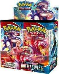 Pokemon Battle Styles Booster Box Sealed In Hand - Free Priority Mail Shipping