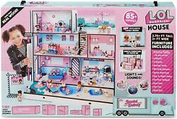 Lol Surprise Real Wood House W/ 85+ Surprises Interactive Doll House Girls Toys