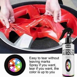 100ml Auto Wheel Spray Film Car Tire Color Change Paint Rubber Painting Tearable