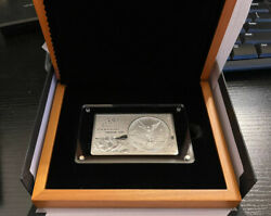 2017 35th Anniversary Mexico Libertad - 3 Oz Silver Bar W/coa Only 5k Minted
