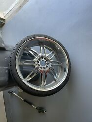 22 Inch Chrome Rims And Tires Universal Rims