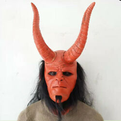 Christmas Carnival Baron Mask Head Set Blood Queen Rise Latex Mask