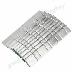Strip Stick On Wheel Balance Weights Silver Fit Car Truck Motorcycle Van Car Co