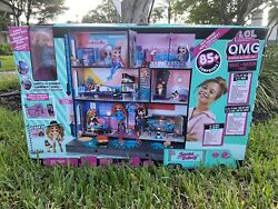 Lol Surprise Maison W/ O.m.g. Doll - Real Wood Doll House - 85+ Omg Surprises