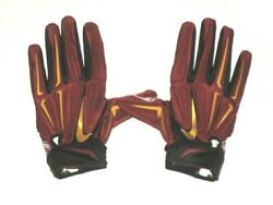 Darrel Young Team Issued And Signed Washington Redskins Team Logo Nike Xl Gloves