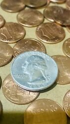 1964 Silver Quarter Type A No Mint Mark Sd Real Pic 100 Guarantee