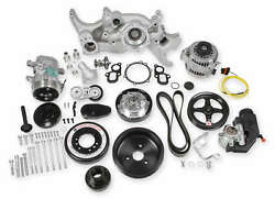 Holley 20-200 Holley Premium Mid-mount Complete Accessory System For Lt Engines