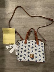 Dooney and Bourke NFL Dallas Cowboys Celeste Satchel Brand New with Tags $145.00