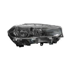 For Bmw X5 2014-2015 Replace Bm2519141 Passenger Side Replacement Headlight