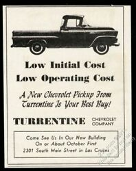 1959 Chevrolet Pickup Truck Photo Unusual New Mexico Dealer Vintage Print Ad
