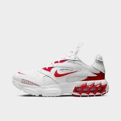 Nike Zoom Air Fire Womenand039s Casual Mesh White - Metallic Silver - University Red