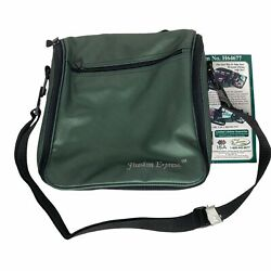 Vintage Qvc Freedom Express Travel Bag Purse Carry On Luggage H64677 Green