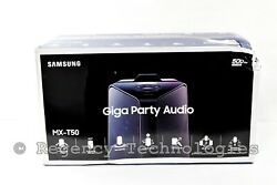 Samsung Mx-t50 Giga Party Audio System   Mx-t50   Black   Factory Sealed