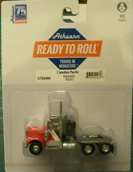 Athearn Ho Kw Kenworth Truck Tractor Canadian National Cn Black 1/87 Ath41065