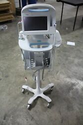 Welch Allyn 6000 Connex With Stand 65mtxx Working Vital Signs Monitor