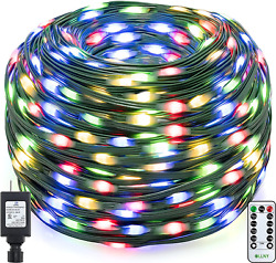 Ollny Christmas String Lights 330ft 800 Led Super Long With Remote Outdoor Ip67