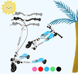 🛴swing Scooter 3wheels Wiggle Tri-slider Folding Flicker Scooter For Kids Usa🛴