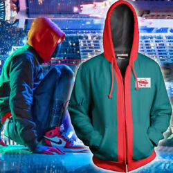 Spiderman Into The Spider Verse Miles Morales Adultandkidand039s Hoodie Cotton Jacket