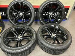 2015-2017 Dodge Challenger And Charger 20 Inch Factory Oem Wheel Take Off