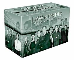 Salelaw And Order The Complete Series 104 Disc Dvd Box Set Seasons 1-20 New
