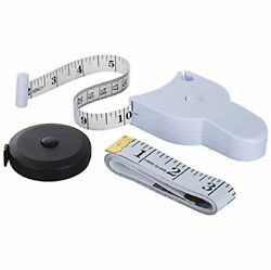 3 Kinds Of Measuring Tapes Body Measure ,retracted And Sewing Measure