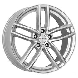Jantes Roues Dezent Tr Silver Pour Volkswagen Beetle - Maggiolino Staggered 4ca