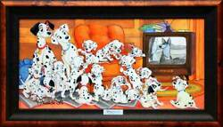 Disney 101 Dogs/family Movie Knight Certificate Of Work With Hook For Exhibition