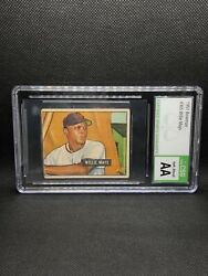 1951 Bowman 305 Willie Mays Rookie Csg Authentic Altered Mantle Rc Year Set