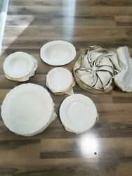 Antique Dishes English Ironstone Crown Ducal