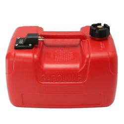 12l Red Plastic Portable Gallon Boat Yacht Engine Marine Outboard Fuel Tank New