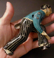 Vintage Tin Jointed Arms Toy Part