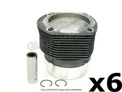 Porsche 911 1974-1977 Piston And Cylinder 6 Mahle Oem + 1 Year Warranty