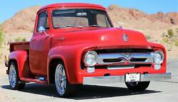 1955 Ford F-100 Ford F100 Red With 645 Miles For Sale
