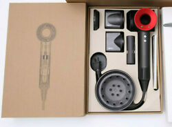 New Dyson Supersonic Hair Dryer Red New In Sealed Box Hd03