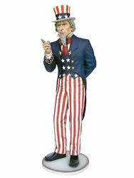 Giant Uncle Sam Life Size Statue