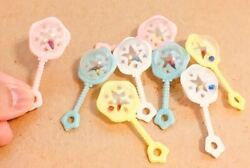 No.02 Baby Products Rattle Pieces Miniature Dollhouse Deco Parts Made Of Plastic