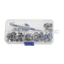 Stainless Steel Snap Fastener Kit Canvas To Deck Boat Cover Fast Fixed 62 Pcst