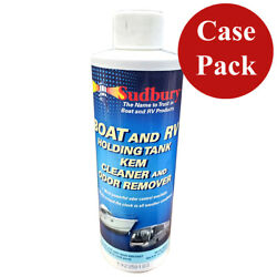 Sudbury Boat And Rv Holding Tank Kem Cleaner And Odor Remover 8oz Case Of 6