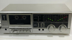 Sanyo Rd 7 Cassette Stereo Deck Player Dolby Stereo Tested Works