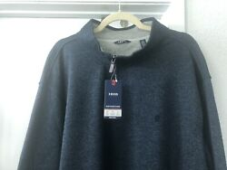 Izod 3xl Sweater Big And Tall Mens Long Sleeve 3x Pullover New Zip Up