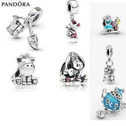 Authentic PANDORA Silver S925 ALE Beads Dangle Charm Accessories Charms