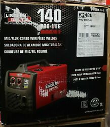 Lincoln Electric Mig/flux-cored Wire Feed Welder 140 Pro-mig