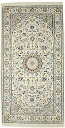 3x5 Floral Classic Handmade Indo-nain Oriental Rug Home Decor Carpet 2and0396x4and0398