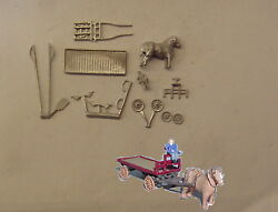 Pandd Marsh N Gauge N Scale E203 Horse Drawn Dray Lms Kit Requires Painting