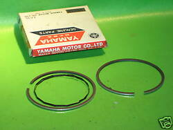 Yamaha Dt1 Dt1e 1968 And 1971 Std. Piston Rings Nos Oem 214-11601-03-00
